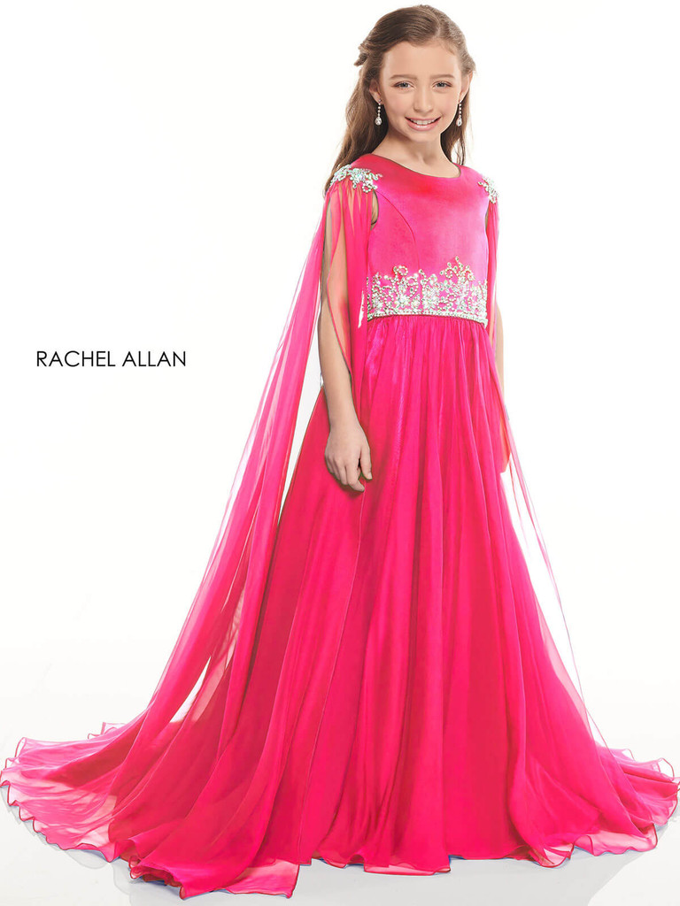 High Neck Girls Pageant Dress Perfect Angels 10001