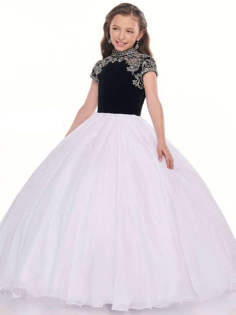 Chiffon Ball Gown Perfect Angels 10025 Pageant Dress PageantDesigns