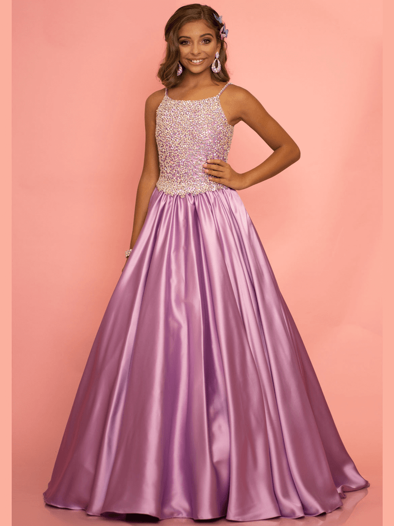 Ball Gown Girls Pageant Dress Sugar Kayne C134