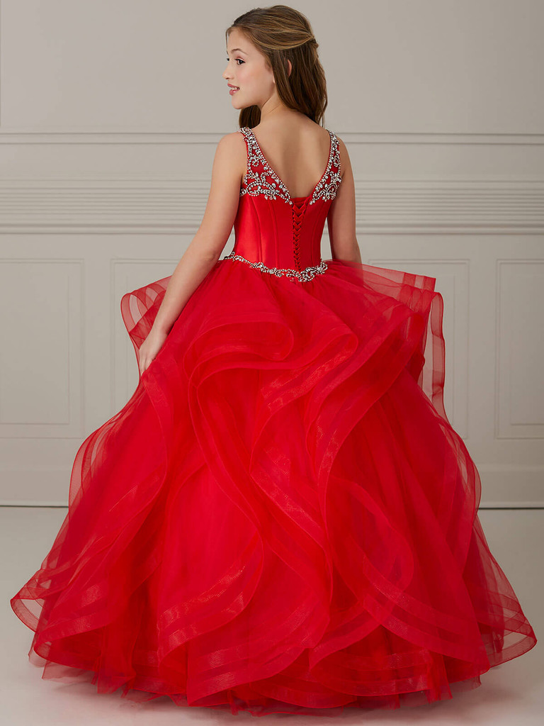 Ball Gown Girls Pageant Dress Tiffany Princess 13639