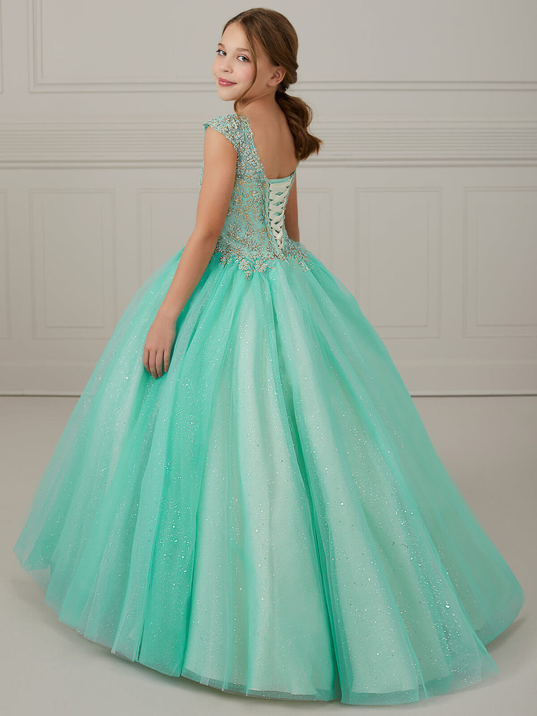 Ball Gown Girls Pageant Dress Tiffany Princess 13647
