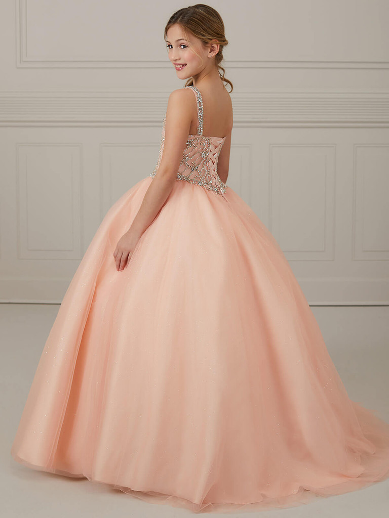 Ball Gown Girls Pageant Dress Tiffany Princess 13648