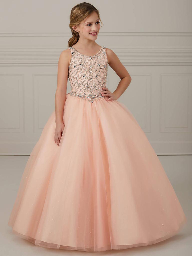 Scoop Neckline Tiffany Princess 13648 Pageant Dress