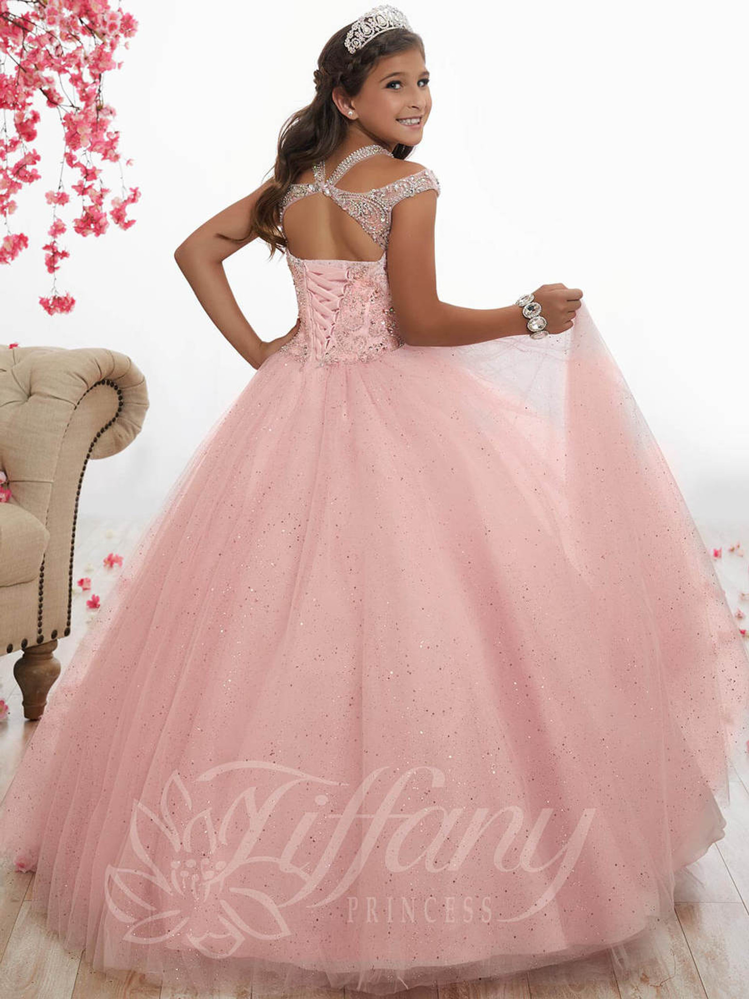 Tulle Girls Pageant Dress Tiffany Princess 13525