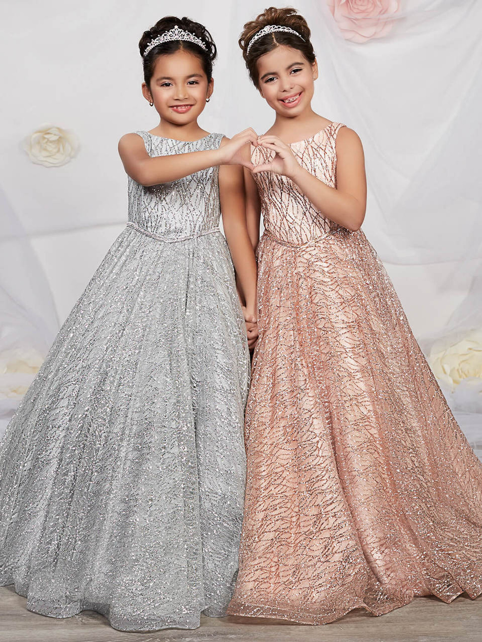 Sparkling Ball Pageant Gown by Tiffany Princess 13530