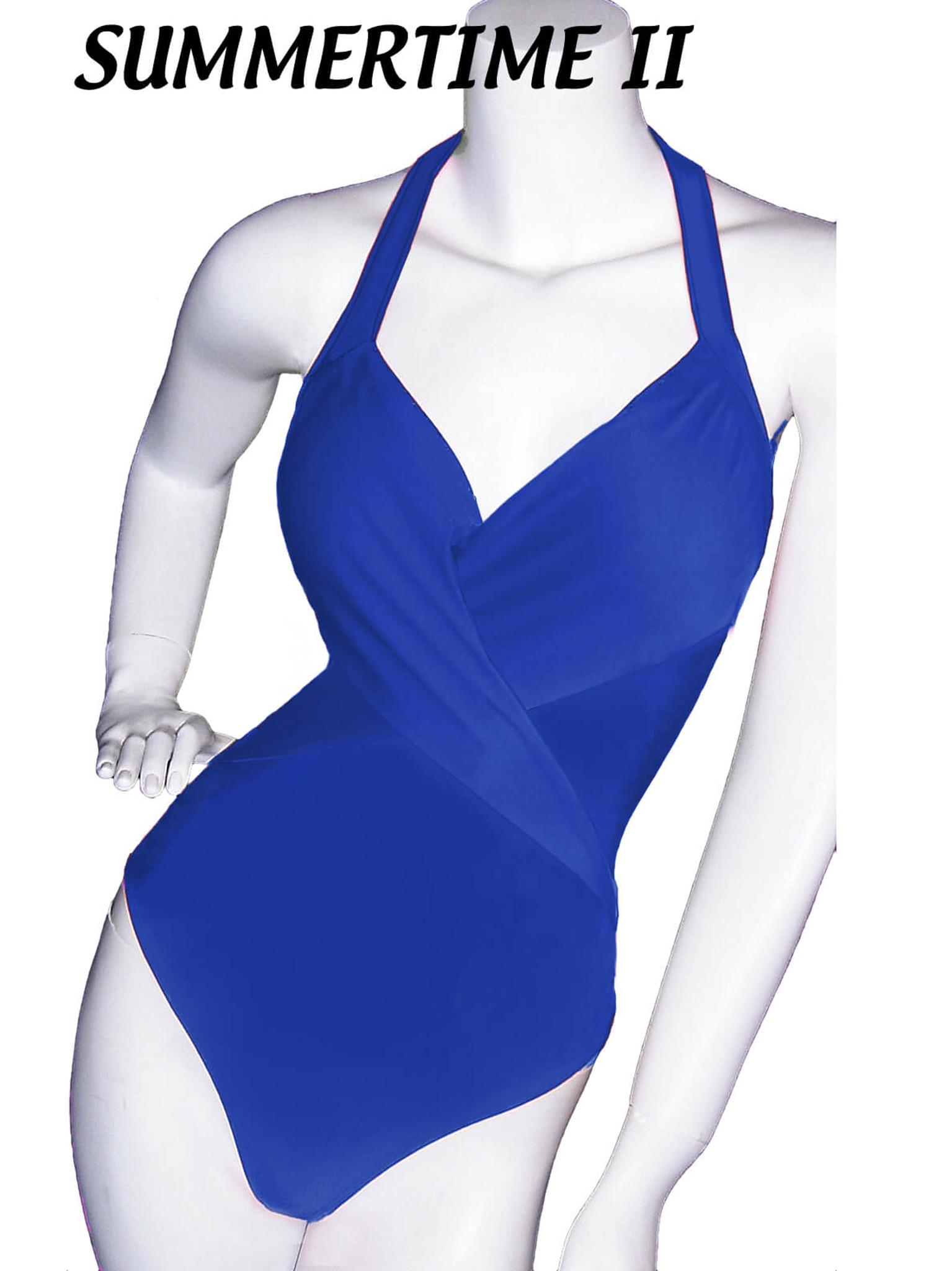 Soft Pleated Top Pageant Lady M Swimwear Style Coastline II