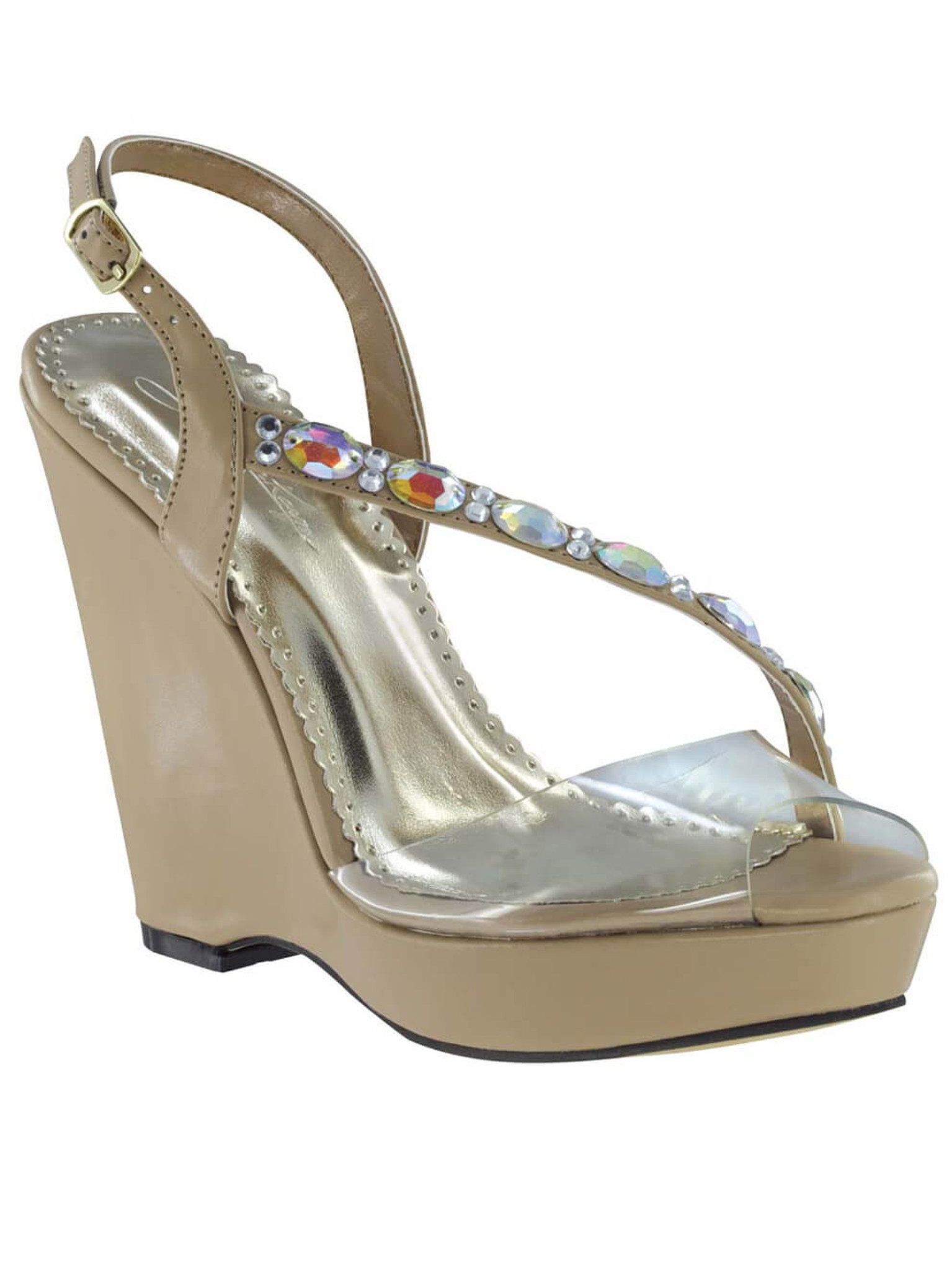 Johnathan Kayne Pageant Shoes Wedge