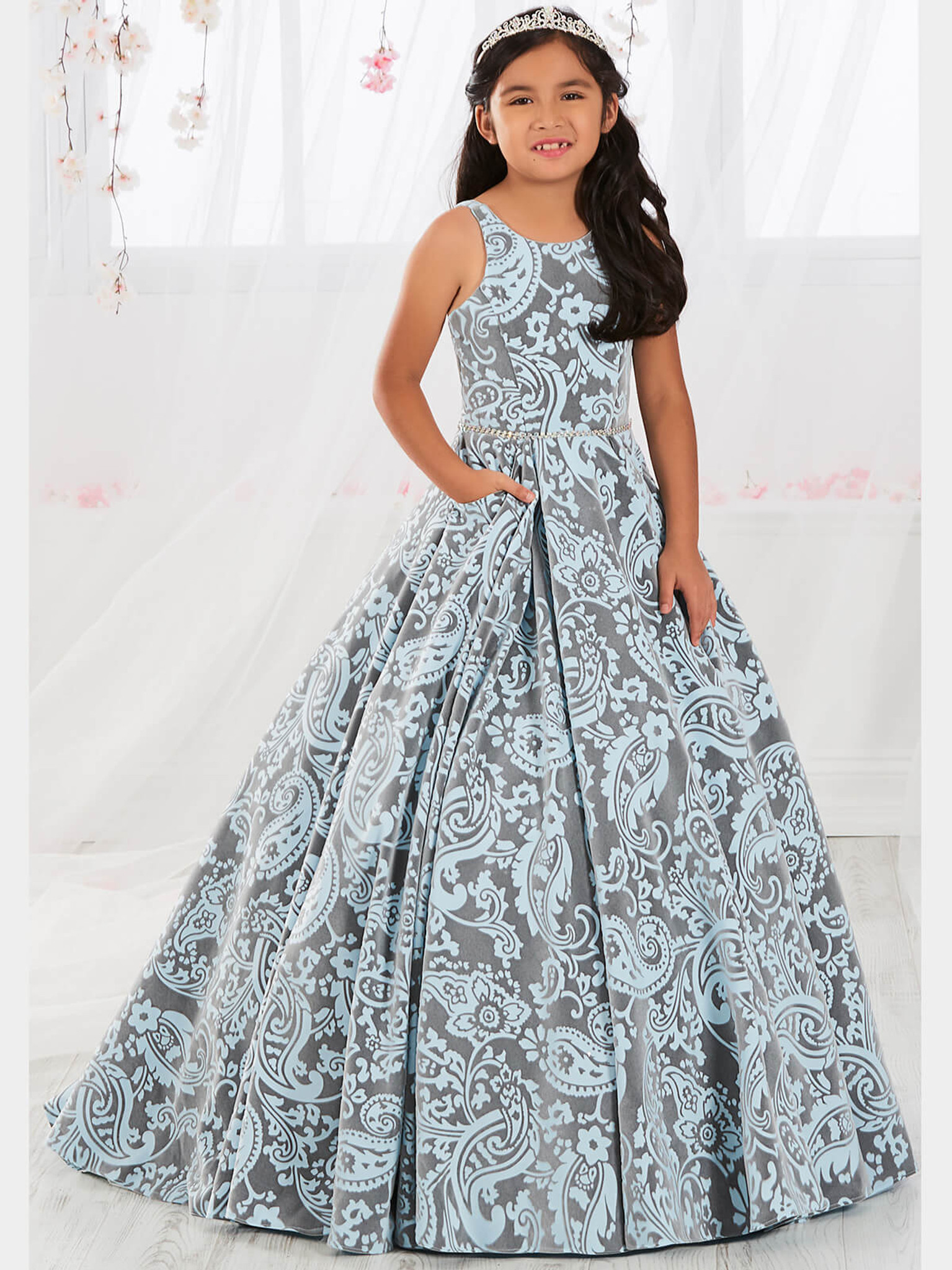 Pocketed Tiffany Designs 13564 Pageant Dress PageantDesigns