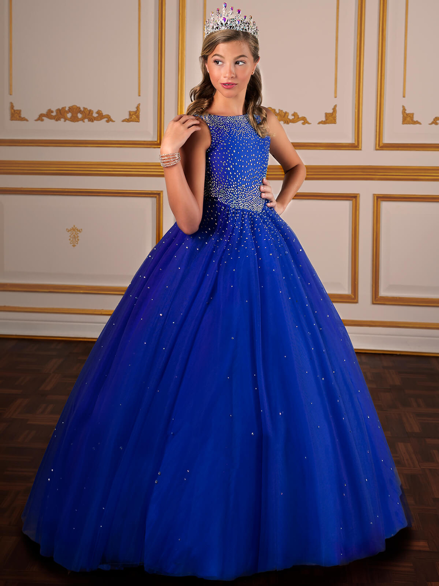 Tulle Tiffany Designs 13574 Pageant Dress PageantDesigns