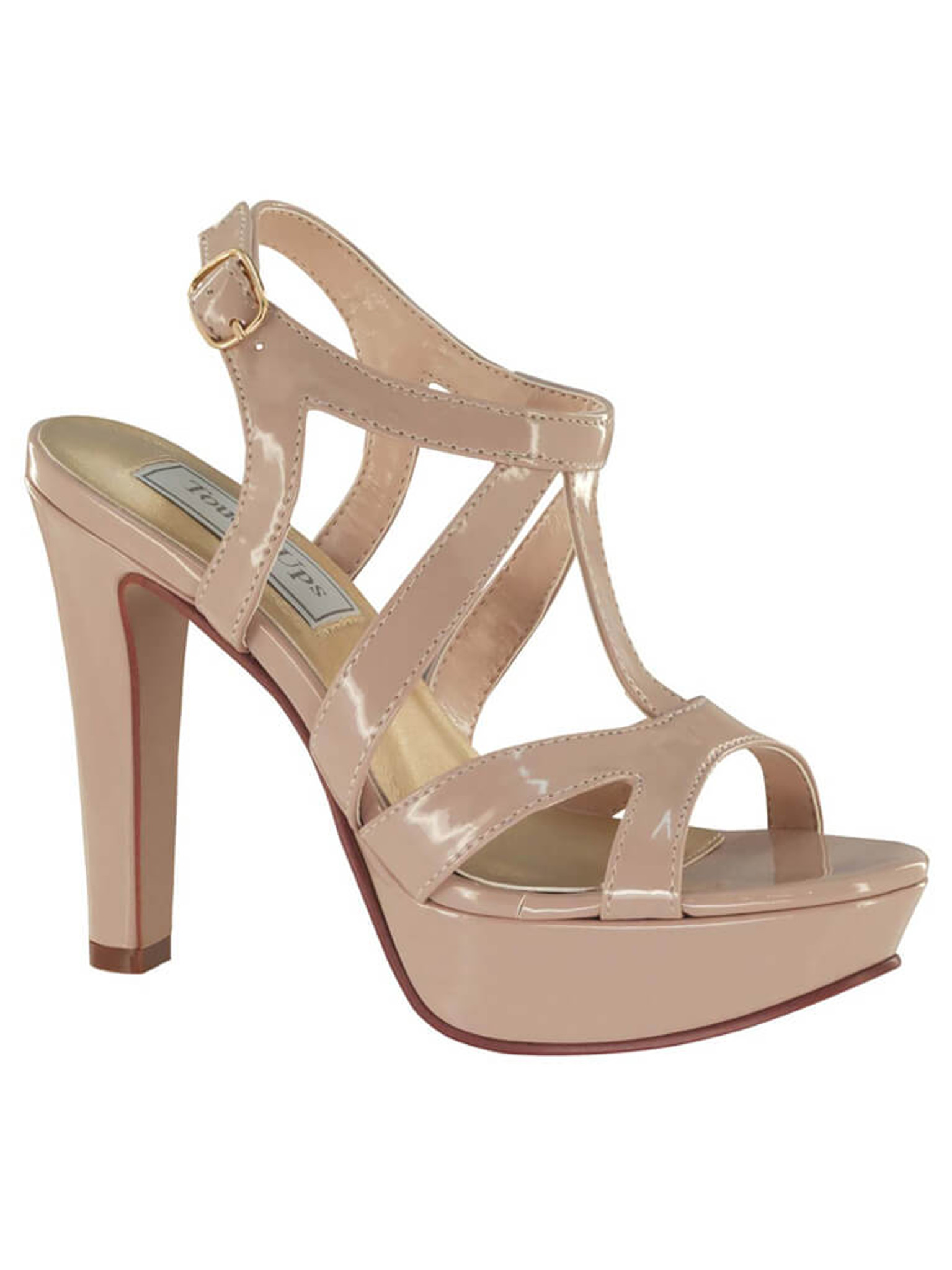 Pageant Platform Sandals Touch Ups Queenie 4002
