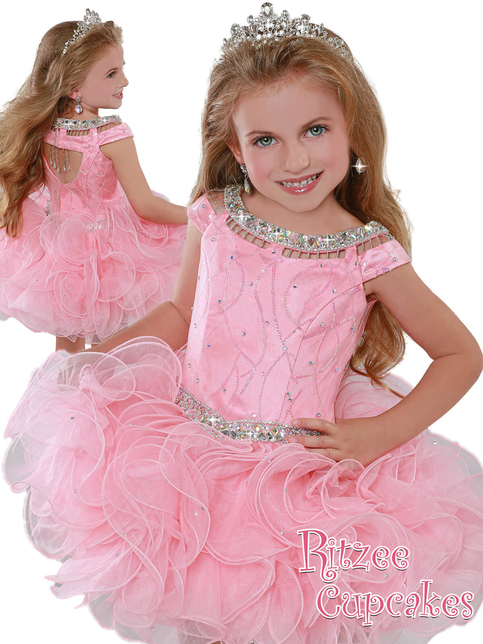 Cupcake Ritzee Girls B281  Pageant Dress PageantDesigns
