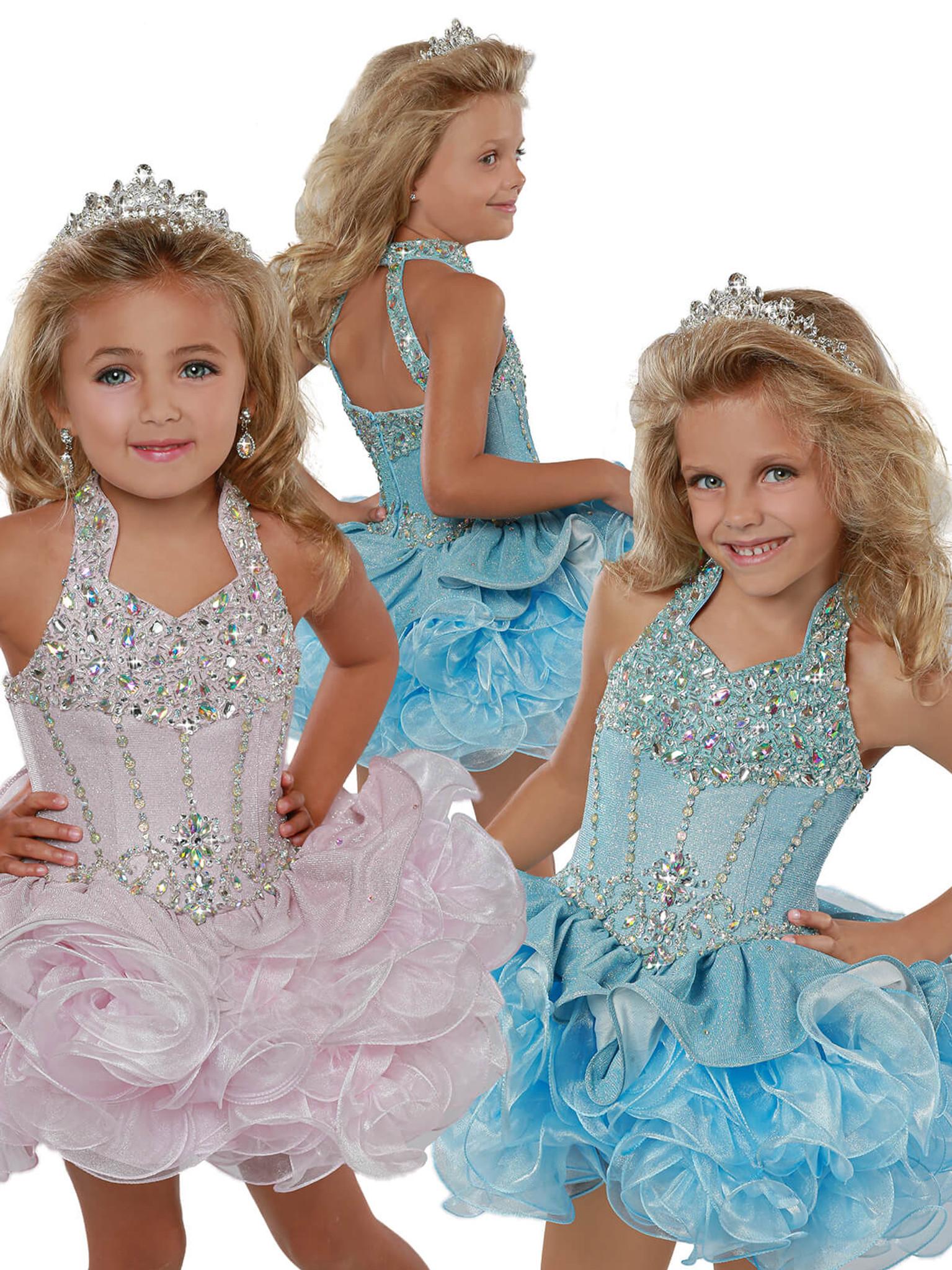 Cupcake Ritzee Girls B282 Pageant Dress PageantDesigns