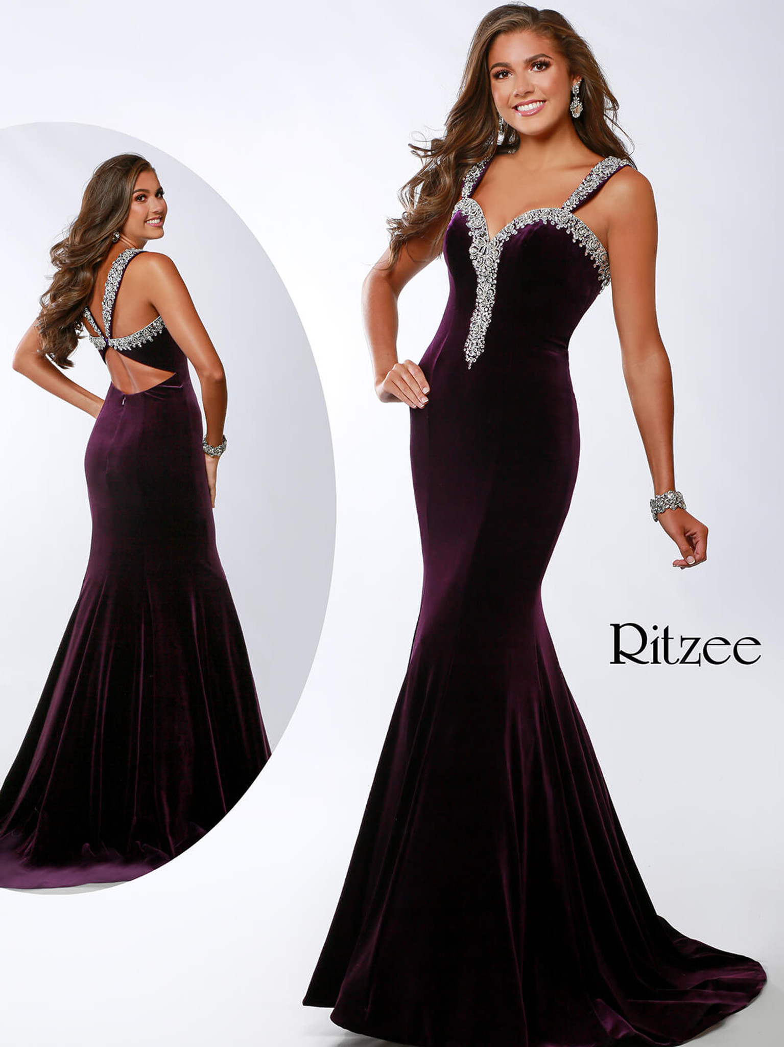 Sweetheart Ritzee Originals 3632 Pageant Dress PageantDesigns