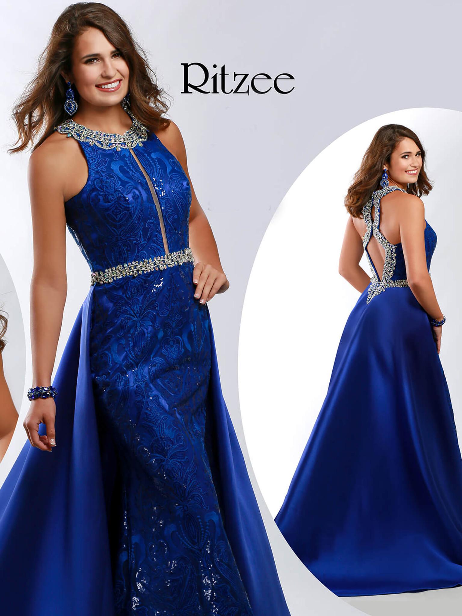 Halter Pageant Dress Ritzee Originals 3639