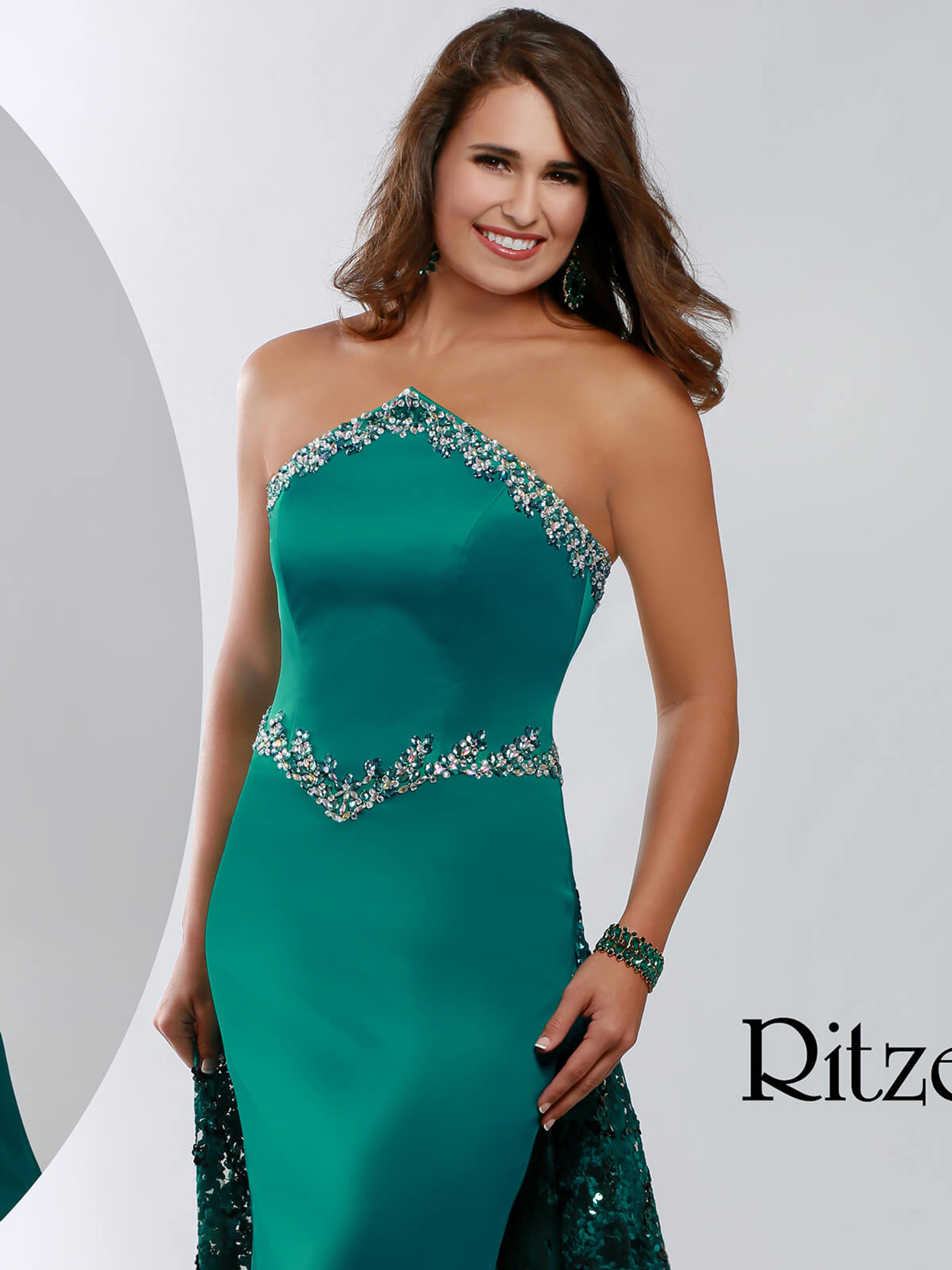 Mermaid Pageant Dress Ritzee Originals 3640