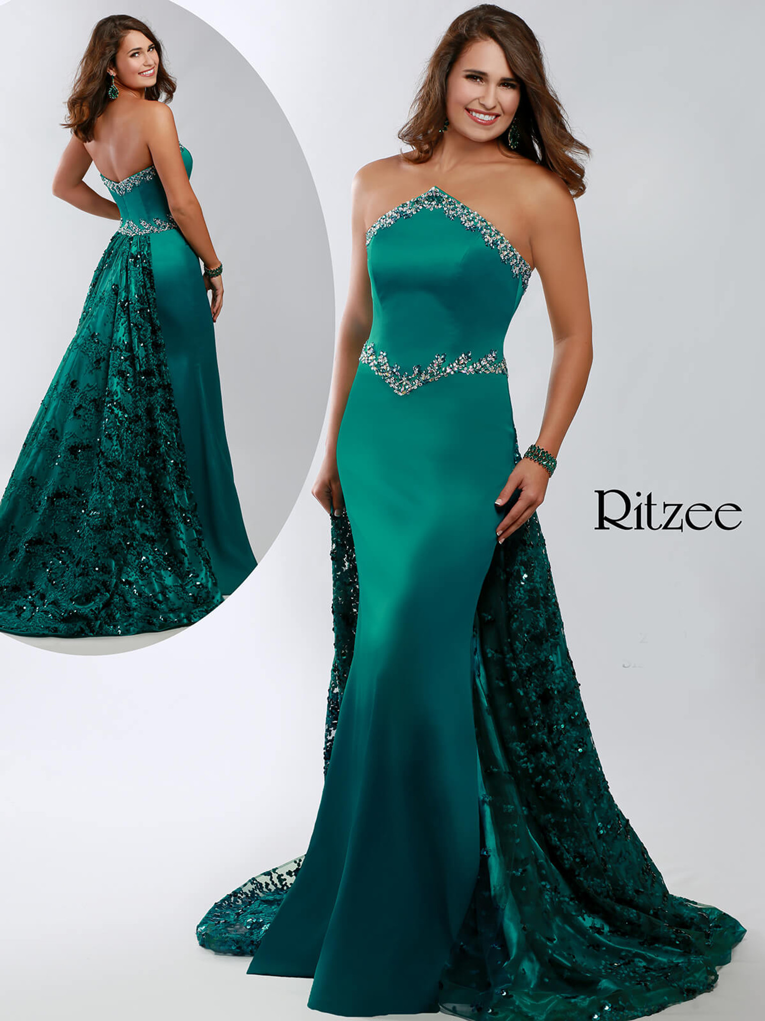 Mermaid Ritzee Originals 3640 Pageant Dress PageantDesigns