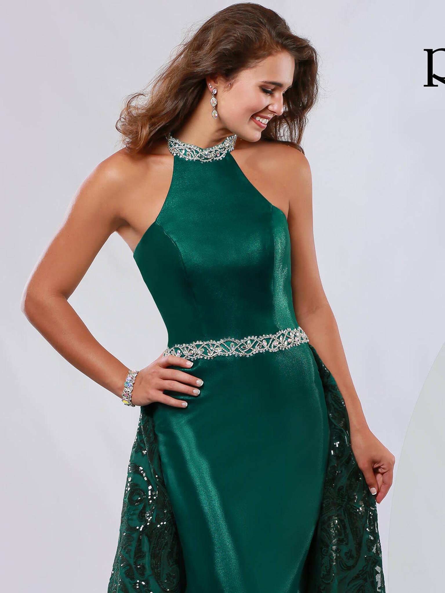 Halter Pageant Dress Ritzee Originals 3643