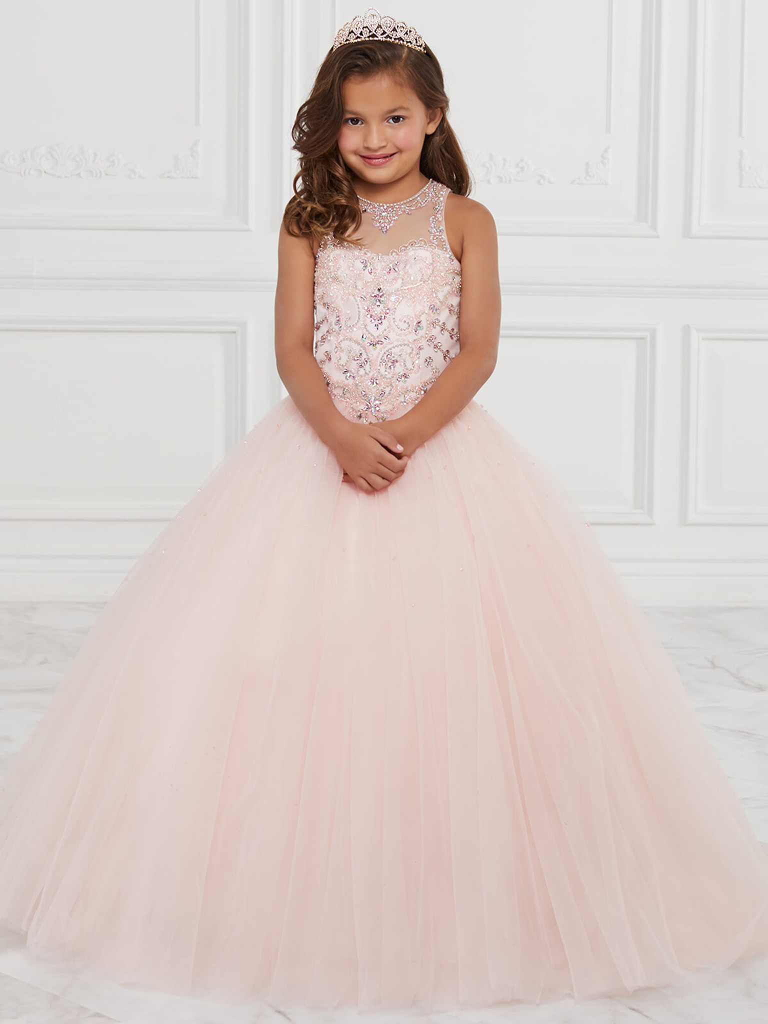 Tulle Tiffany Princess 13593 Pageant Dress PageantDesigns