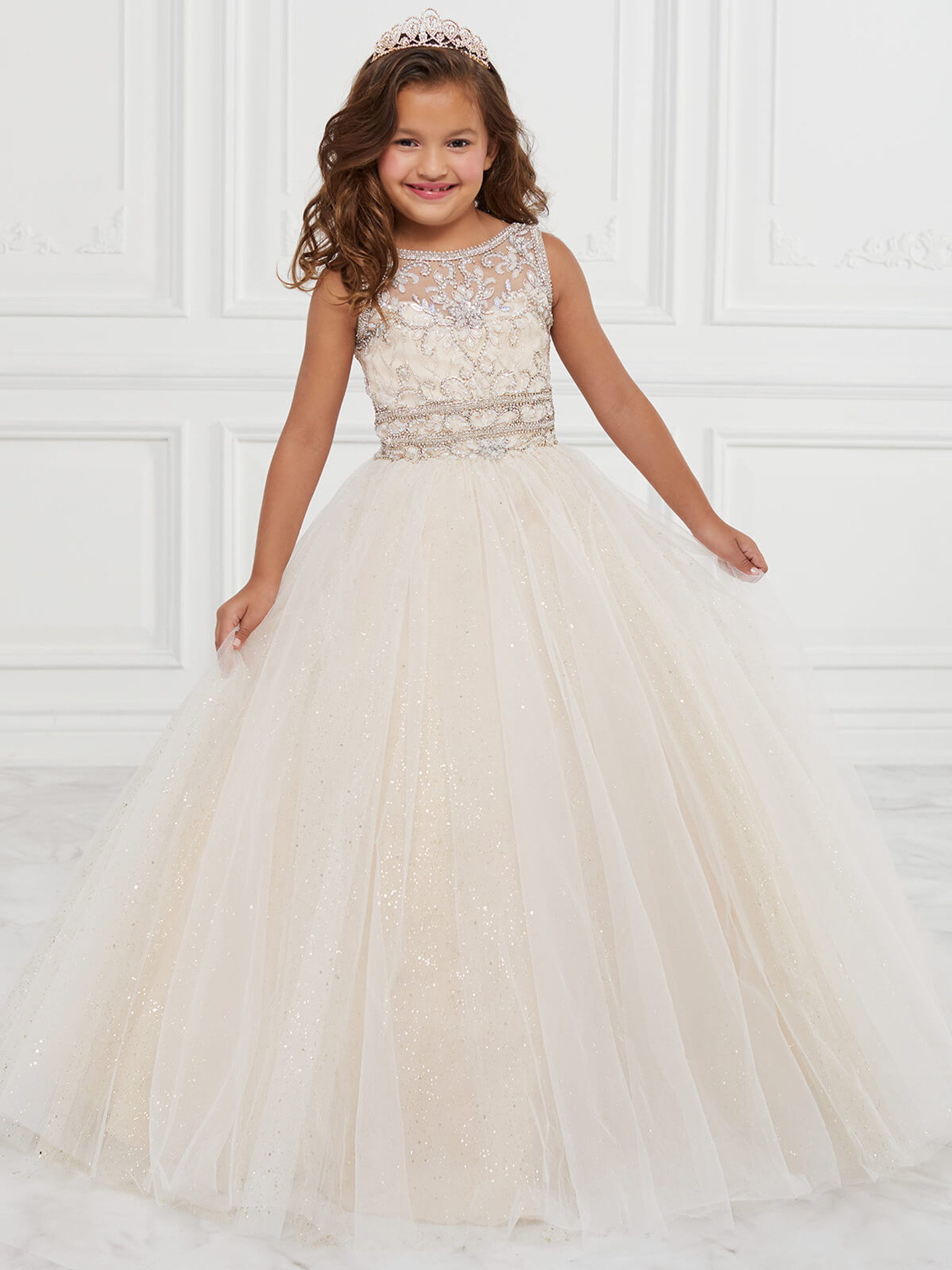 Tulle Tiffany Princess 13601 Pageant Dress PageantDesigns