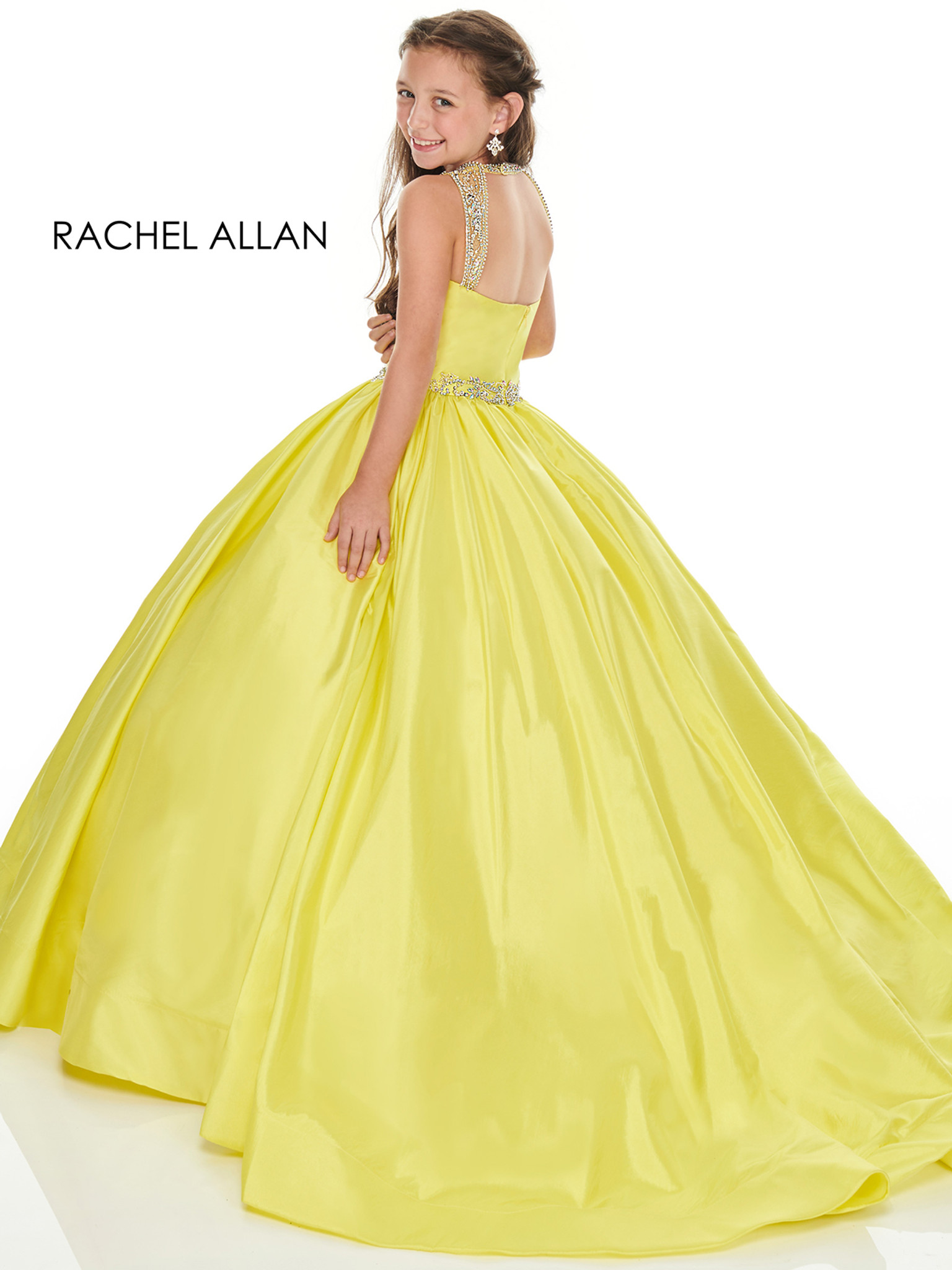 Taffeta Perfect Angels 1763 Pageant Dress PageantDesigns