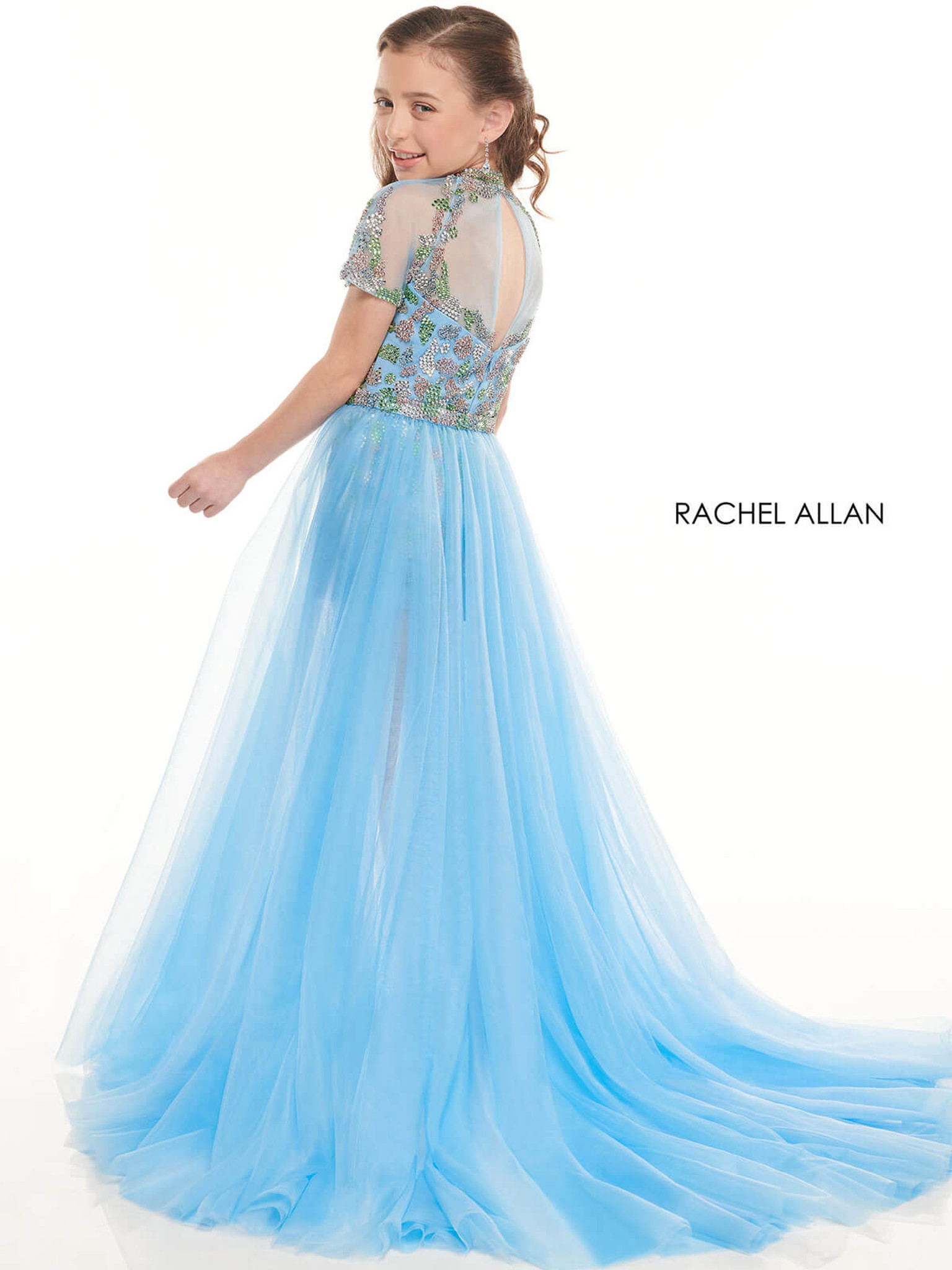 Romper Girls Pageant Dress Perfect Angels 10006