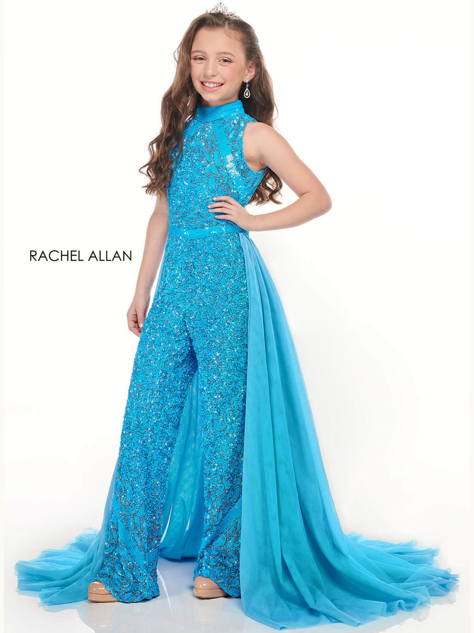Jumpsuit Girls Pageant Dress Perfect Angels 10008