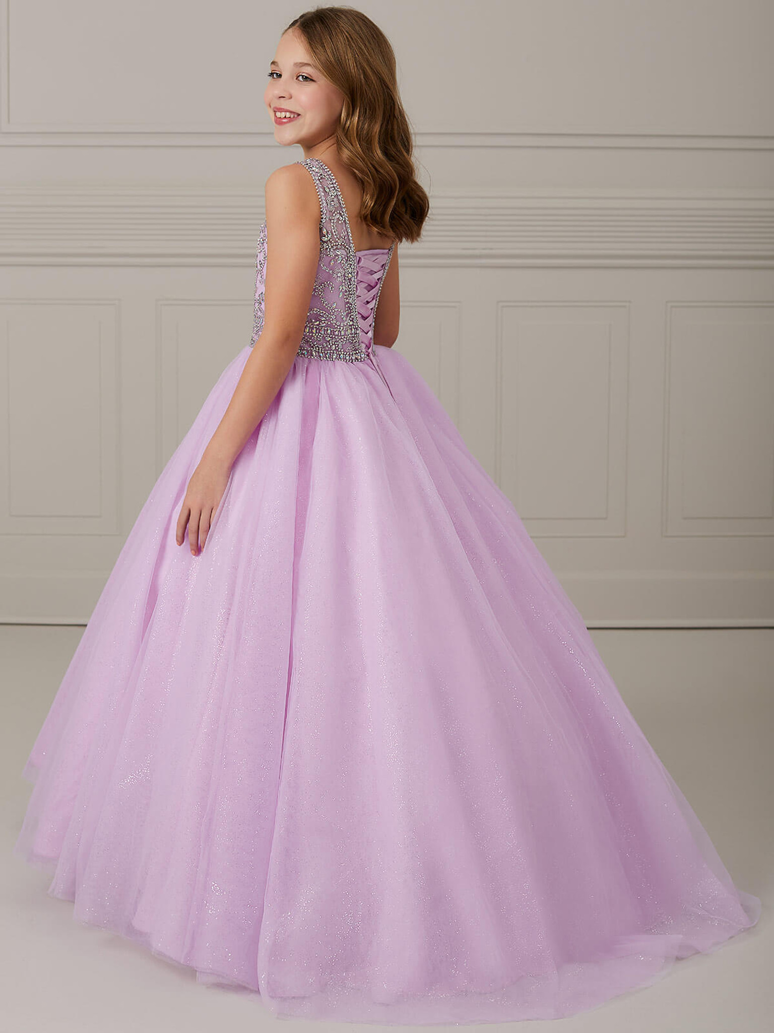 Ball Gown Girls Pageant Dress Tiffany Princess 13635