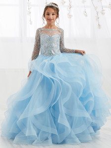 Ruffled Tiffany Designs 13555 Pageant Dress PageantDesigns