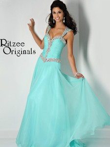 mint pageant dress ritzee originals on sale style 2447