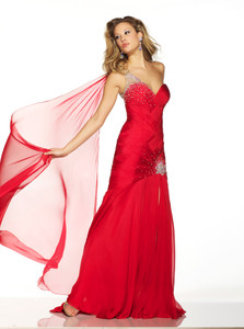 Silk Pageant Dress Mac Duggal 42403P