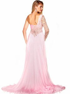 Silk Mac Duggal Pageant Dress 42575P