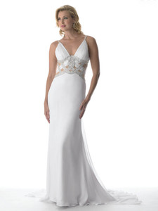 white crown collection pageant dress 6110 on sale