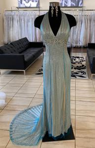 v-neck beaded pageant dress prima donna 5385