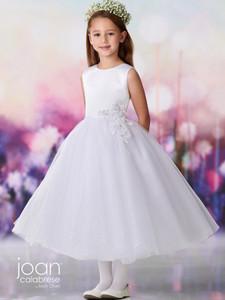 Jewel Neckline Joan Calabrese 119380 First Holy Communion Dress