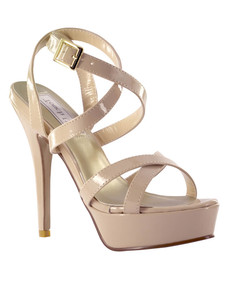Strappy Pageant Sandals Touch Ups Andrea 4117