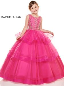 Scoop Neckline Girls Pageant Dress Perfect Angels 1738