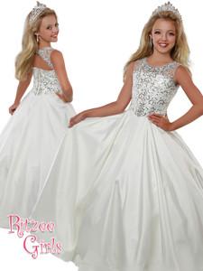 Ball Gown Ritzee Girls 7814 Pageant Dress PageantDesigns