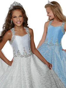 Sweetheart Pageant Dress Ritzee Girls 7920