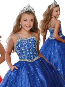 Sweetheart Pageant Dress Ritzee Girls 7922