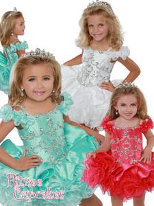 Cupcake Ritzee Girls B277 Pageant Dress PageantDesigns