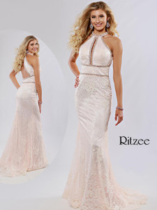 Sheath Ritzee Originals 3636 Pageant Dress PageantDesigns