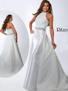 Halter Ritzee Originals 3645 Pageant Dress PageantDesigns