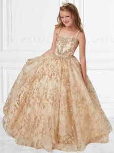Square Neckline Girls Pageant Dress Tiffany Princess 13592