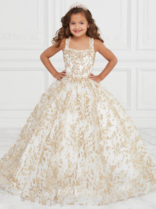 Lace Ball Gown Tiffany Princess 13592 Pageant Dress PageantDesigns