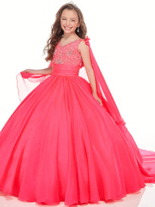 Chiffon Ball Gown Perfect Angels 10005 Pageant Dress PageantDesigns