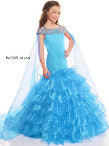 Cold Shoulder Girls Pageant Dress Perfect Angels 10022