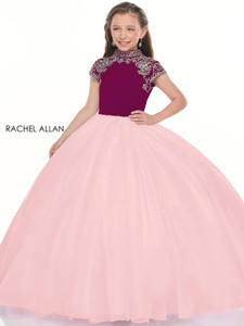 High Neck Girls Pageant Dress Perfect Angels 10025