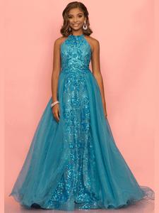 Halter Girls Pageant Dress Sugar Kayne C112