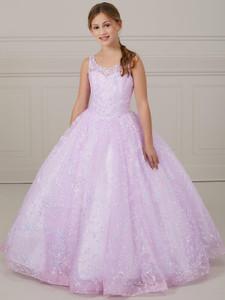 Scoop Neckline Tiffany Princess 13643 Pageant Dress