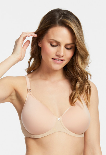 Monteel Spacer Full Cup Underwire Seamless Lightweight Bra 9321